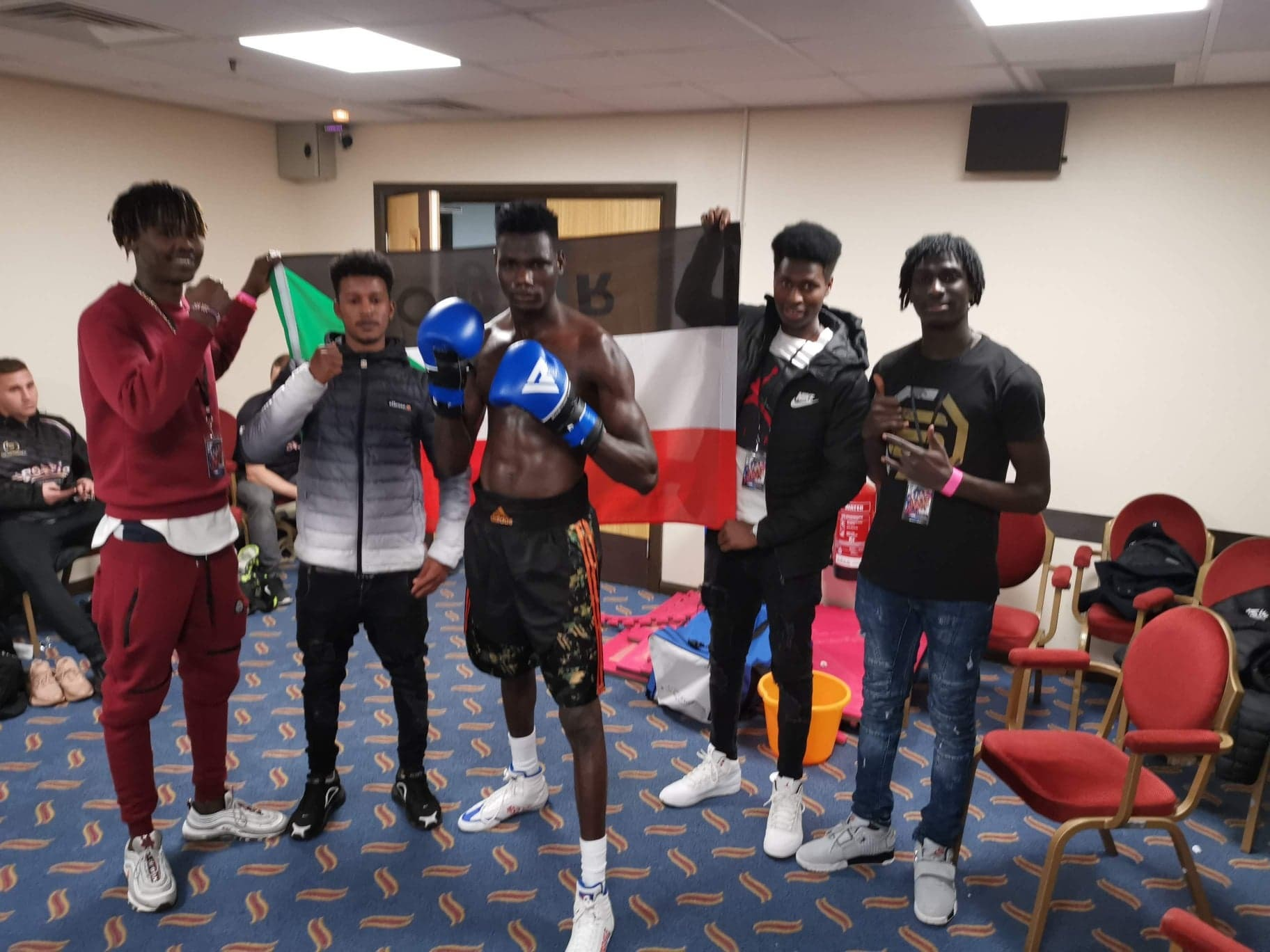 From the Sudan to the ring: 19-year-old tipped for big things