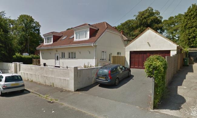 The site on the corner of Marlborough Road and Bournemouth Road. Photo: Google Street View