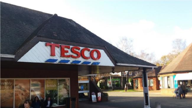 One of the incidents happened in the car park at Ferndown's Tesco