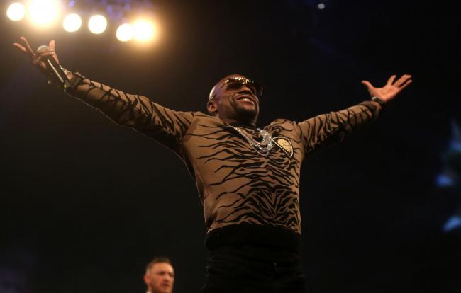 Floyd Mayweather is coming to Poole later this month. Picture: Scott Heavey/PA Wire..