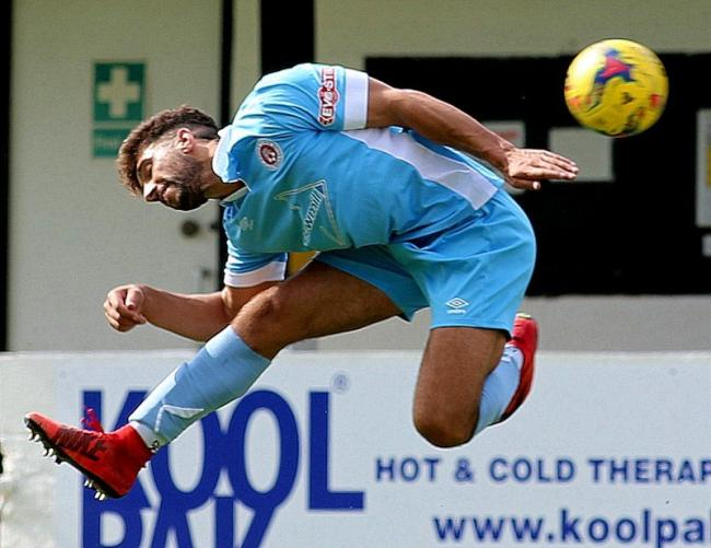 Poole Town's Marvin Brooks (Picture: Andy Orman)
