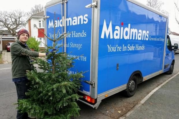 Maidmans Removal and Storage are one of the charity's sponsors which will be helping out with collections