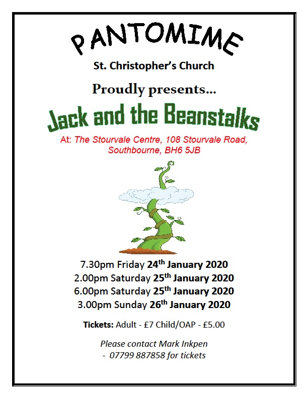 Jack and the Beanstalks Pantomime