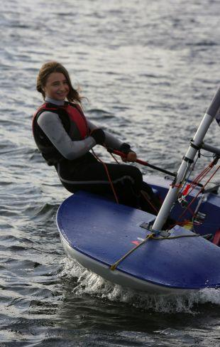Christchurch ace hits her sails target | Bournemouth Echo