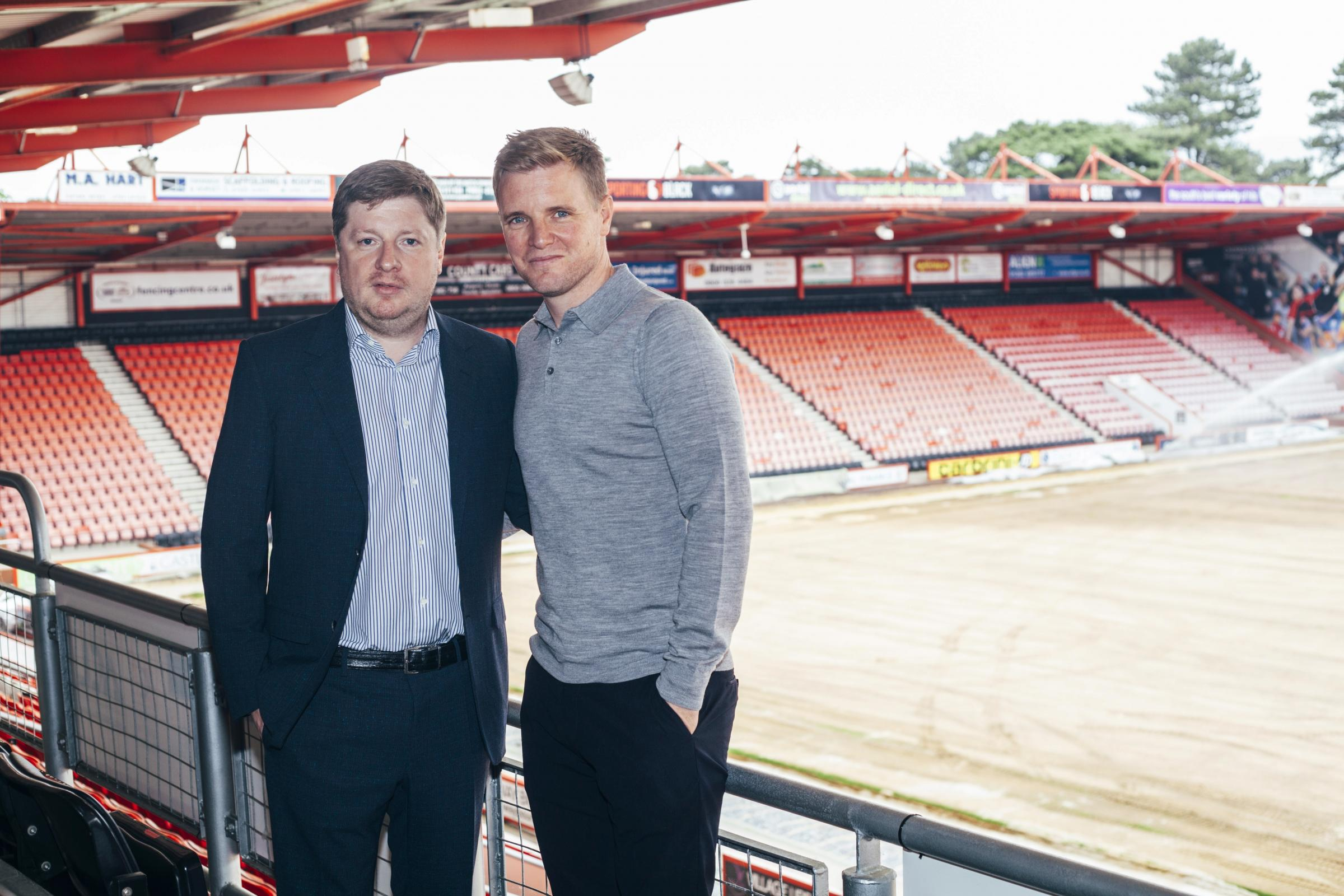 Manager Eddie Howe insists 'positive' Cherries owner Maxim Demin ...