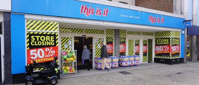 Poole's This Is It store is closing