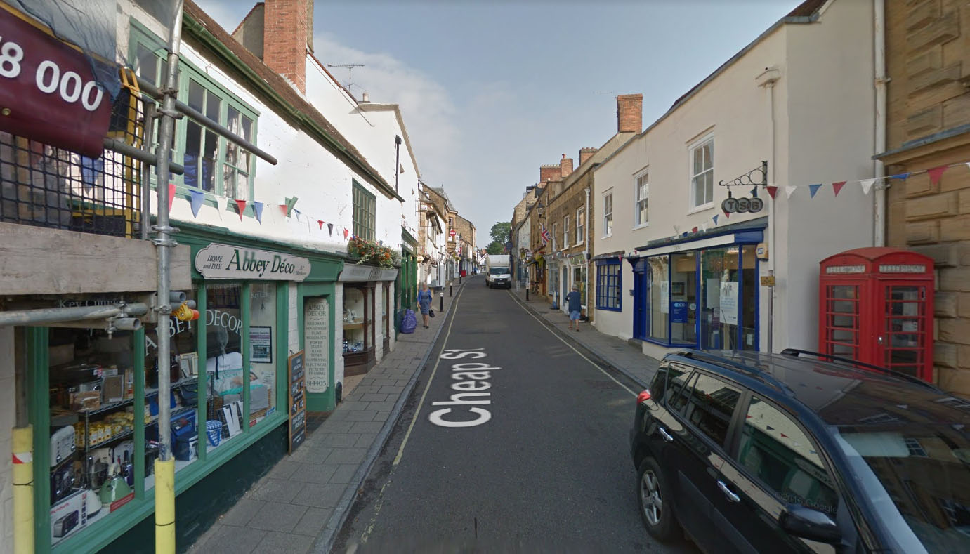 Manhole fire outside shop closes road in Sherborne