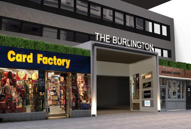 What the frontage of the new Burlington Arcade will look like
