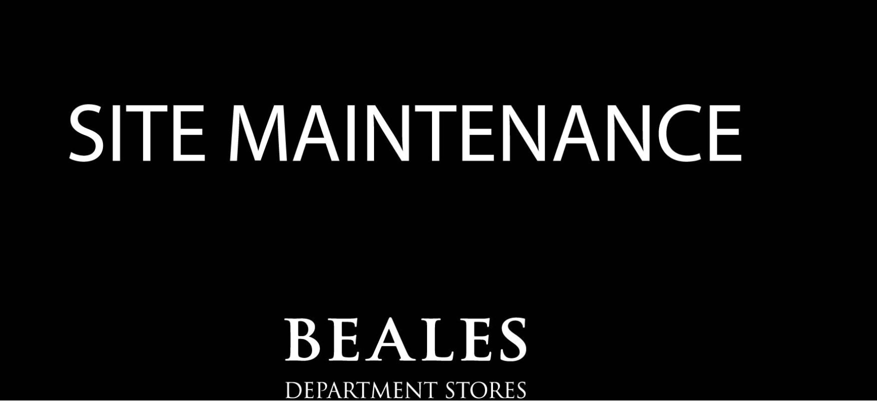 Beales website down amid reports that administrators will be appointed today