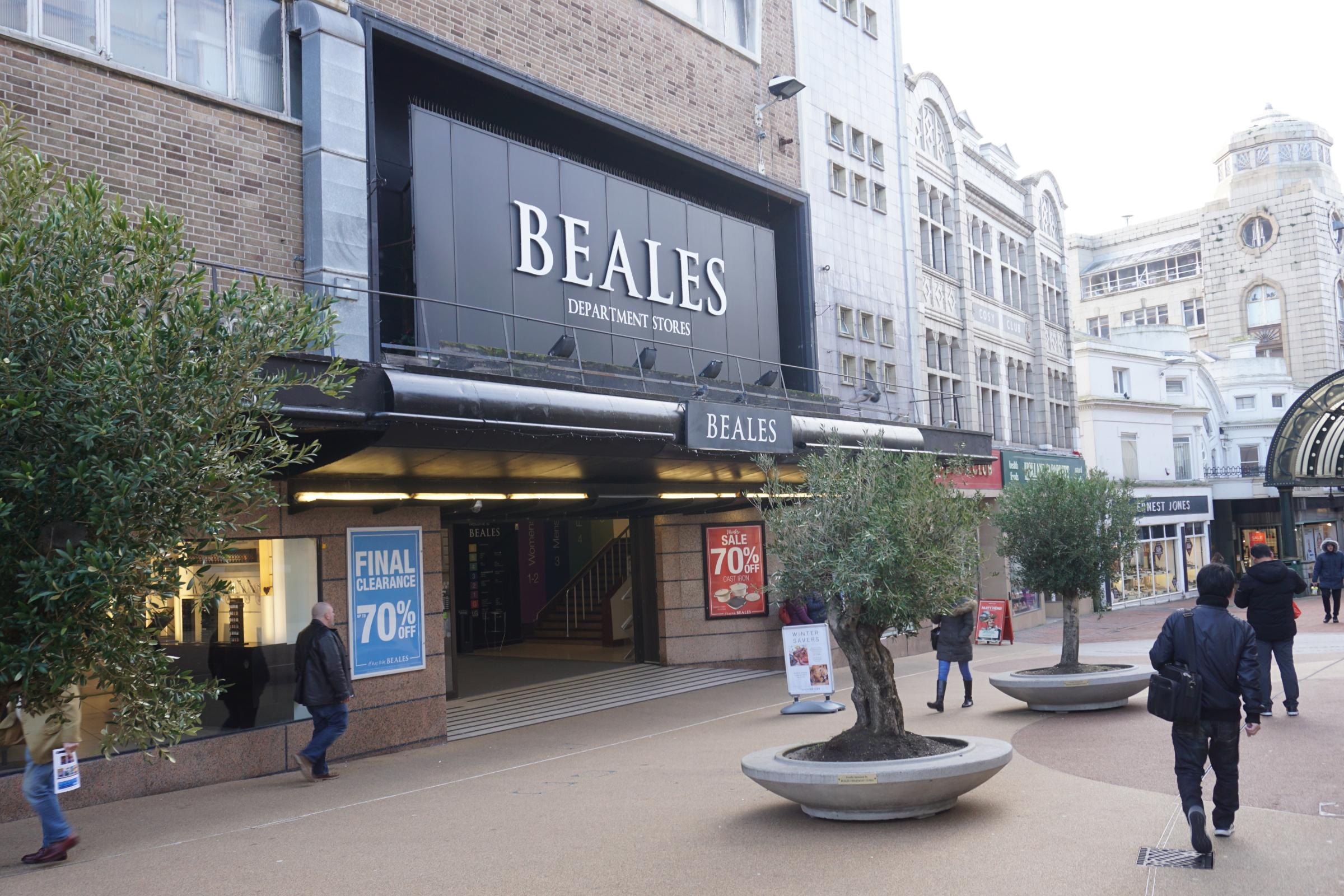 Beales boss asks for a break on 'lunatic' business rates... but council says: 'It'd create a hole in our budget'