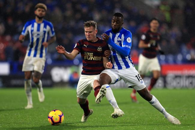 Cherries are reportedly interested in Huddersfield's Isaac Mbenza (Picture: Mike Egerton/PA)