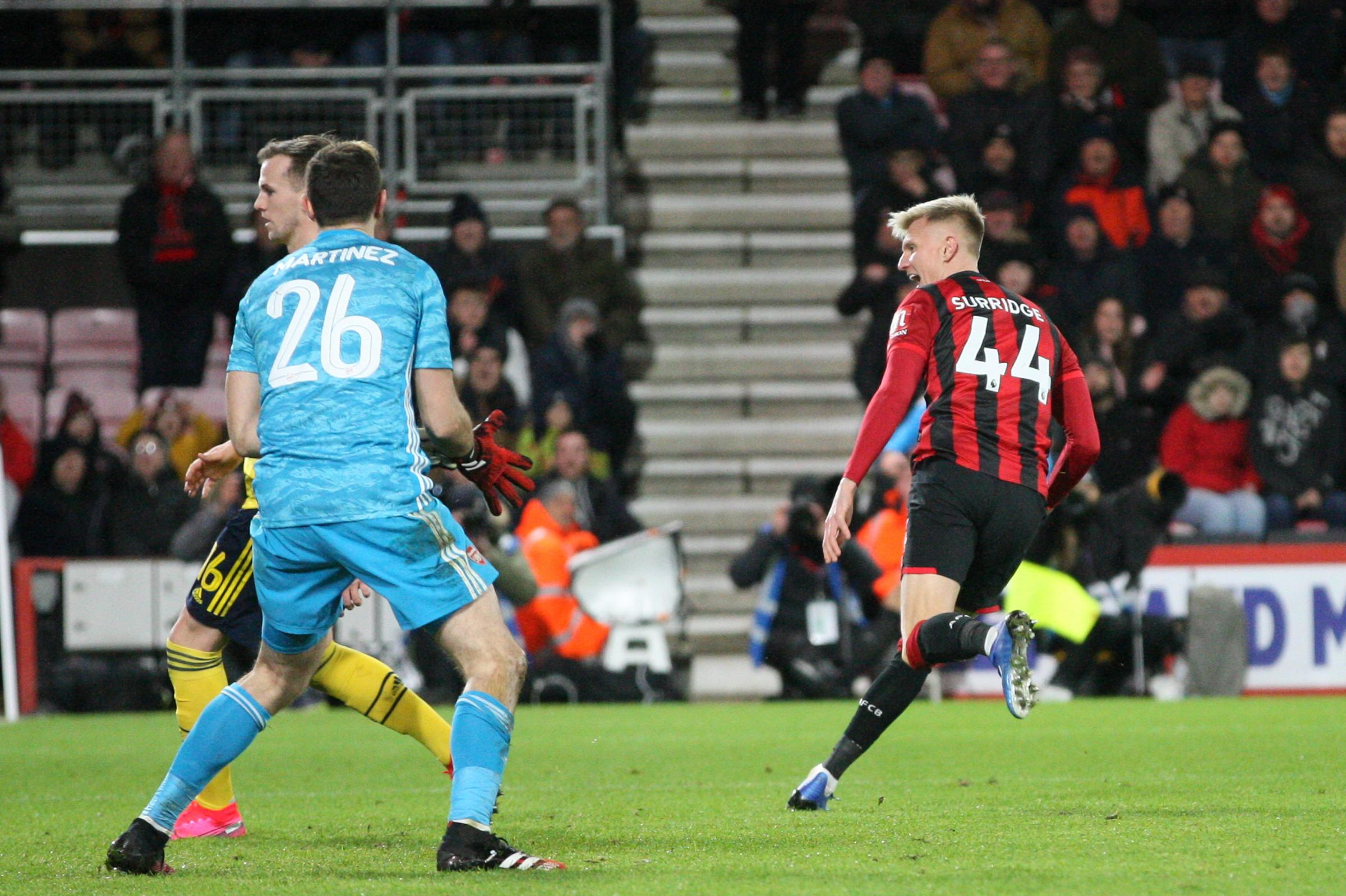 'He's a goalscorer' – Howe says Surridge's FA Cup strike was 'typical' of the rising star frontman