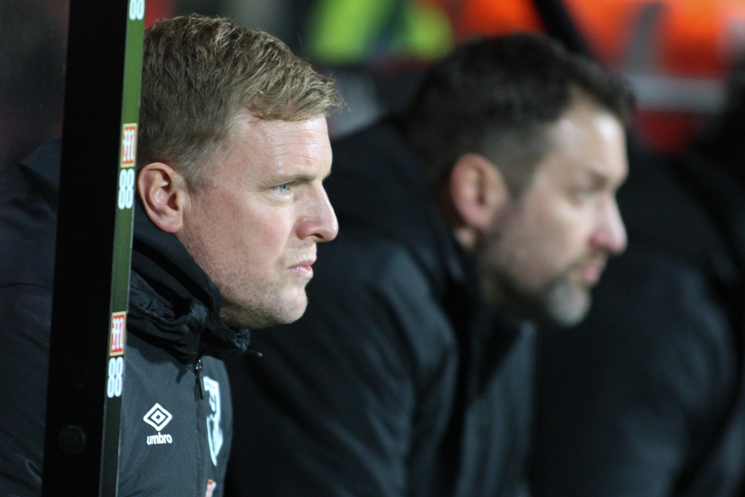 Eddie Howe admits it looks 'doubtful' AFC Bournemouth will add to their squad this week