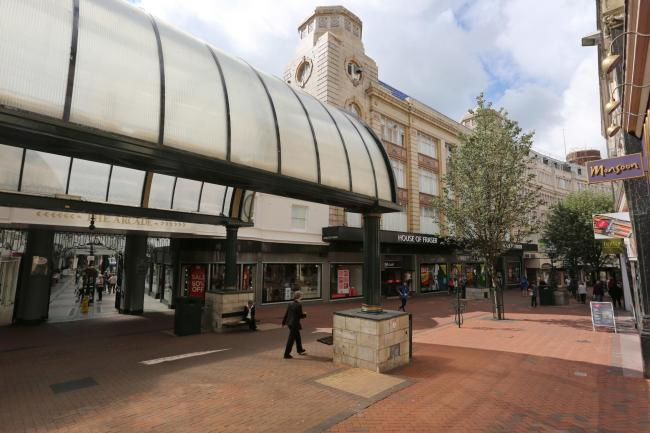 The Arcade in Bournemouth town centre