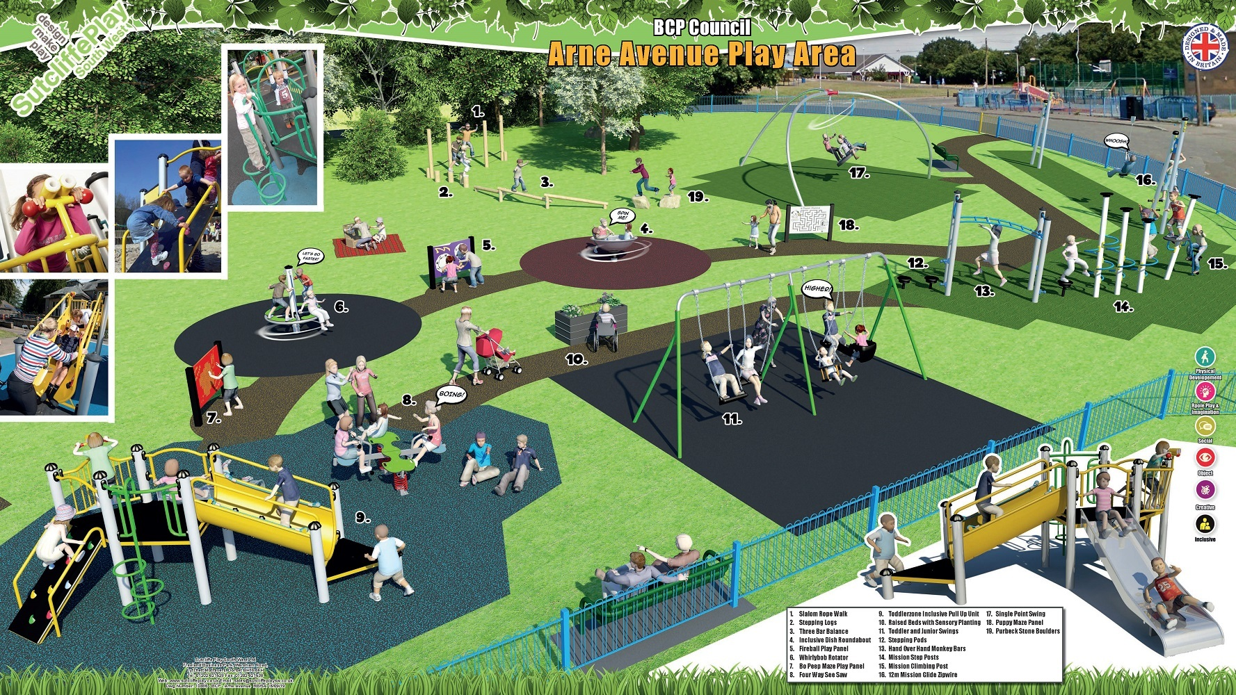 Details of new play park for Poole revealed