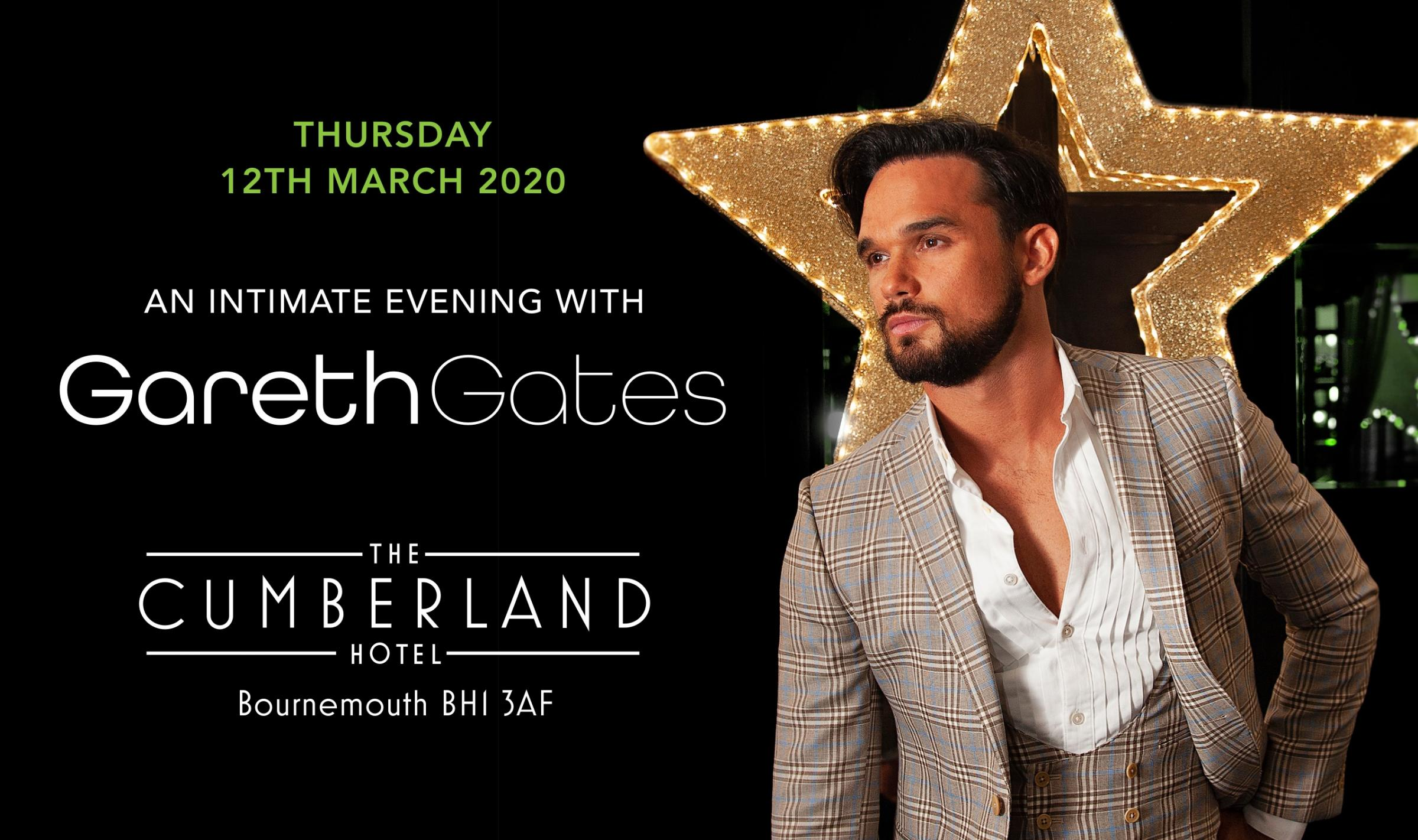 An Intimate Evening with Gareth Gates @ Cumberland Hotel