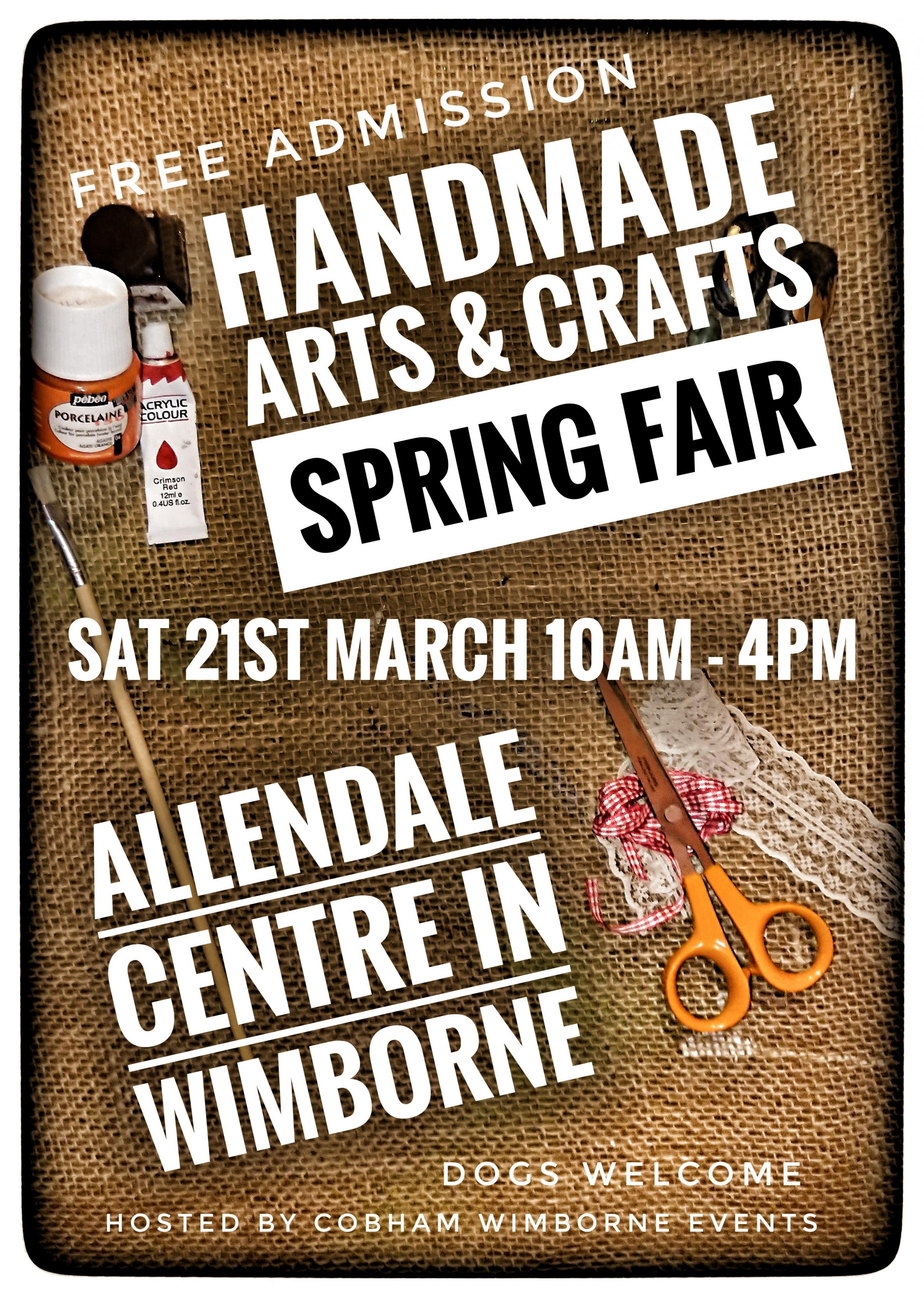 Handmade Arts & Crafts Spring Fair