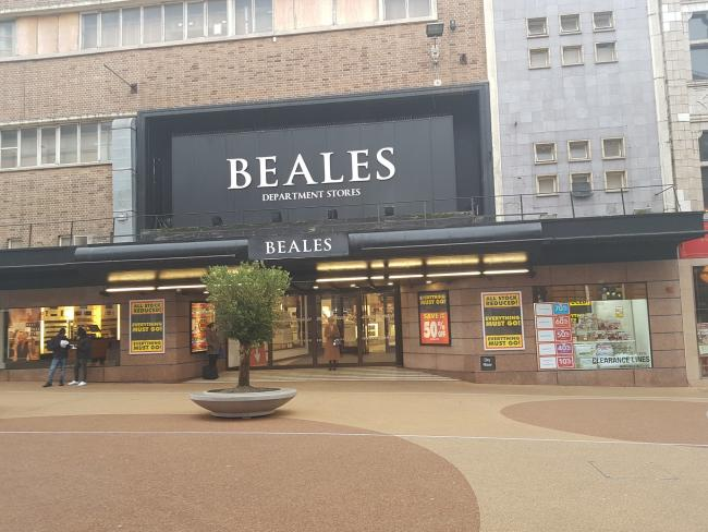 Beales in Bournemouth is set to close in the coming weeks