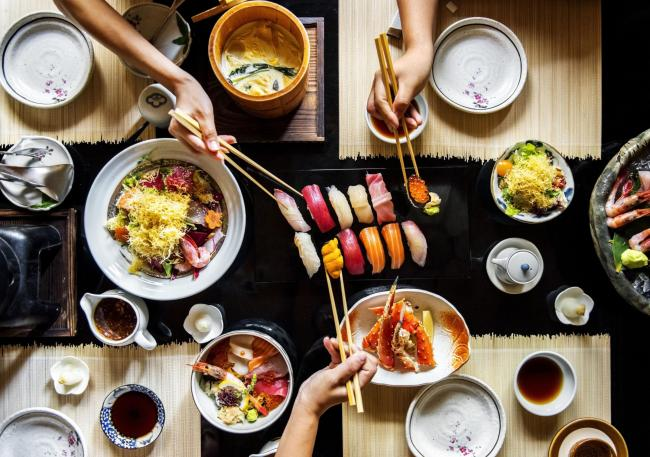 Undated Handout photo of a spread of Japanese food. See PA Feature TOPICAL Food Japanese Cookbooks. Picture credit should read: iStock/PA. WARNING: This picture must only be used to accompany PA Feature TOPICAL Food Japanese Cookbooks