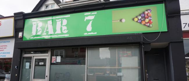 Bar 7 in Christchurch Road, Boscombe