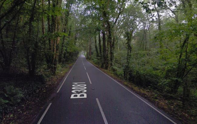 The B3081 between Verwood and Cranborne. Picture: Google Street View