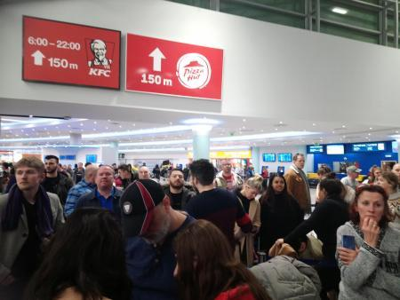 Women and children 'screamed' as Ryanair flight made three failed attempts to land during Storm Ciara