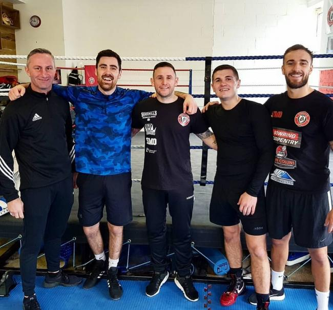 Joe Pigford has joined up with coach Kev Thorniley at Bendall's Gym
