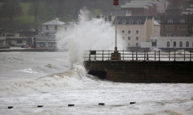 Storm Dennis: Met Office updates wind and rain warnings for Dorset