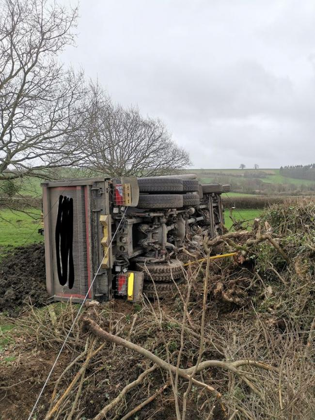 The crash happened in Tiley Knap. Image: Dorset Traffic Cops