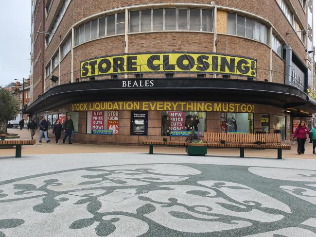 Beales closing all its stores for good tomorrow