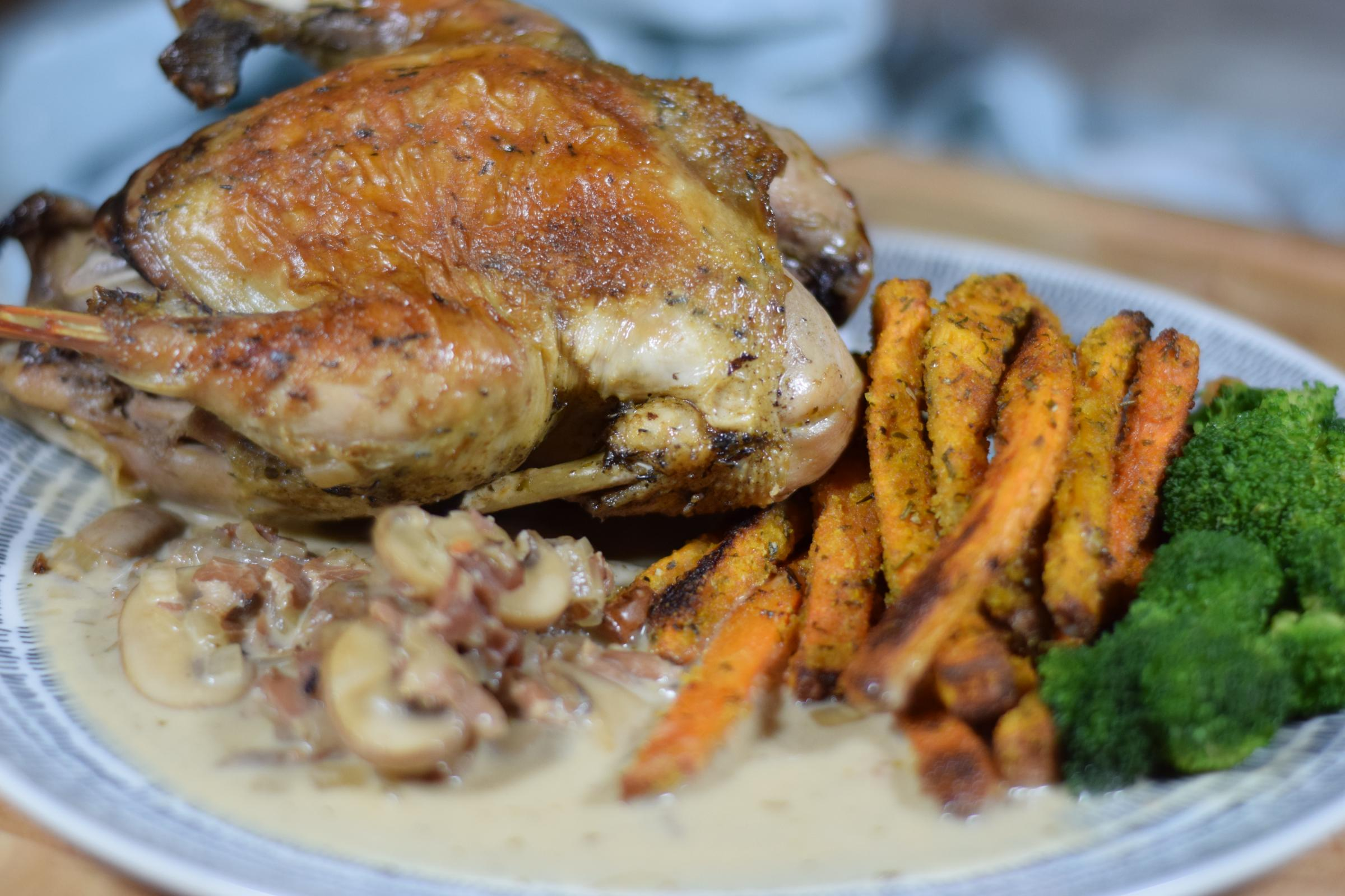 Should pheasant be on McDonald's menus? This recipe could change your mind...