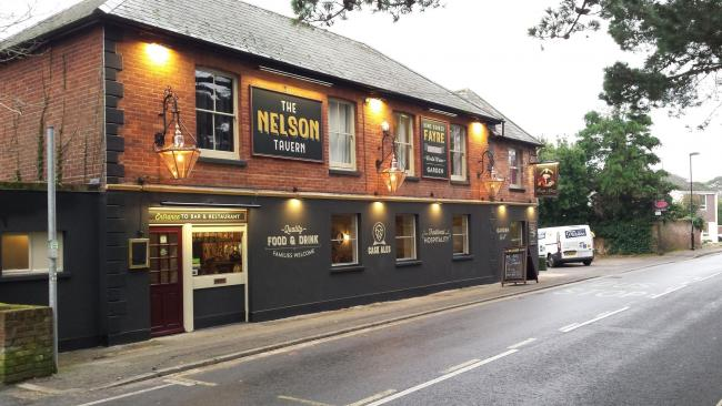 The Nelson Tavern.