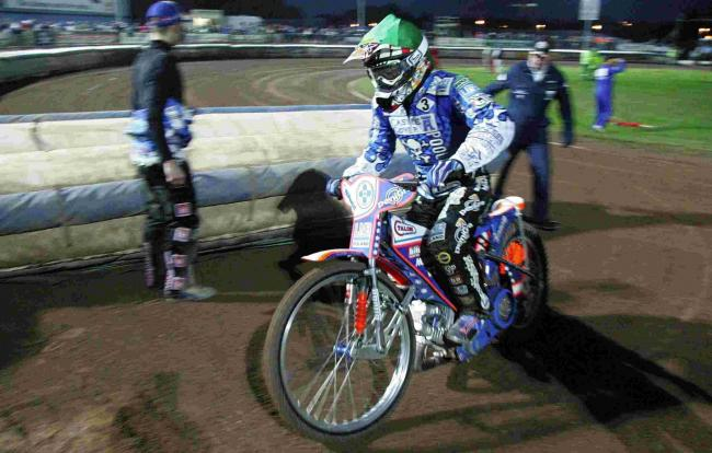 Jason Crump, riding for Pirates back in 2007 (Picture: Corin Messer)