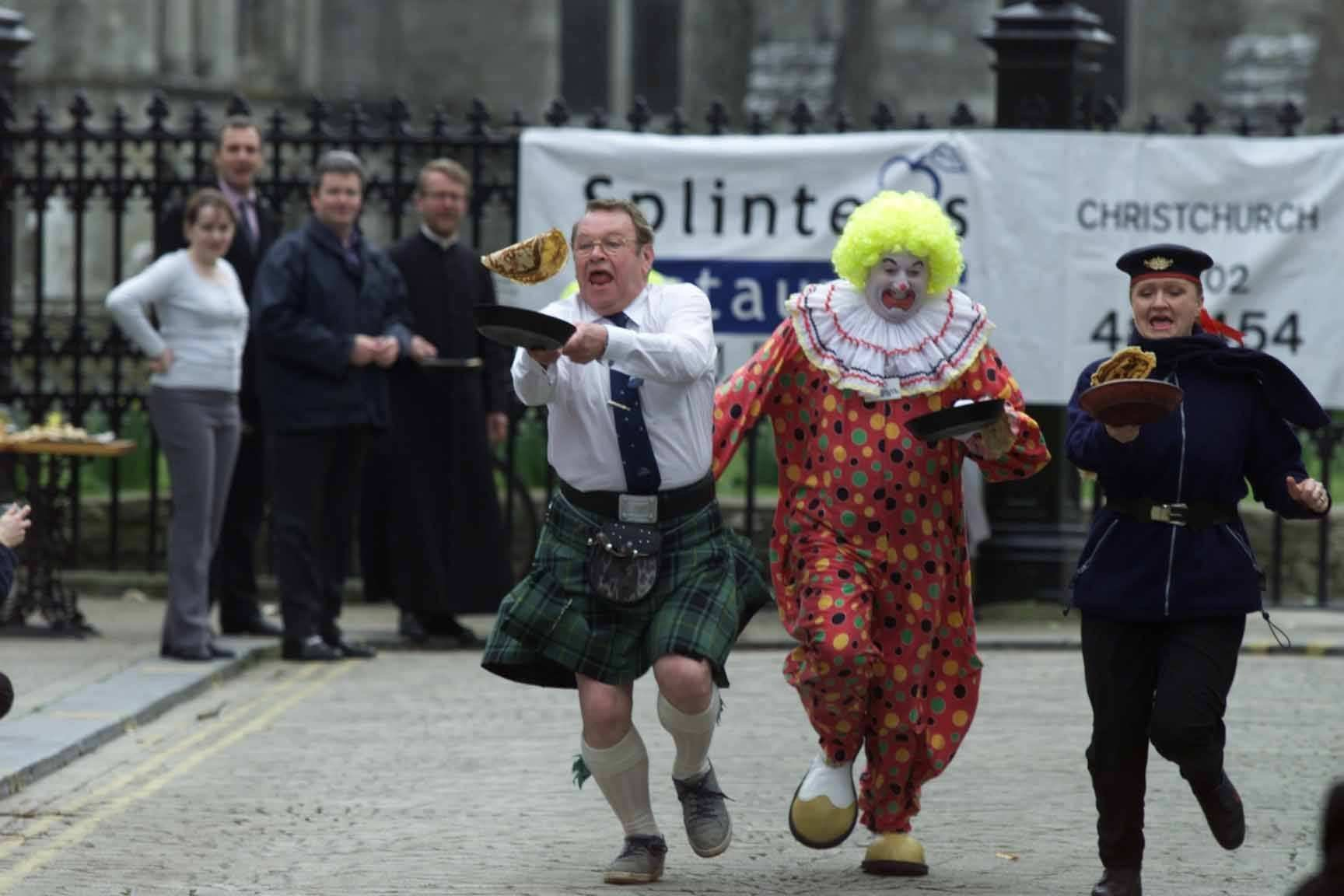 PICTURES: Did you take part in these pancake day races in 2000?