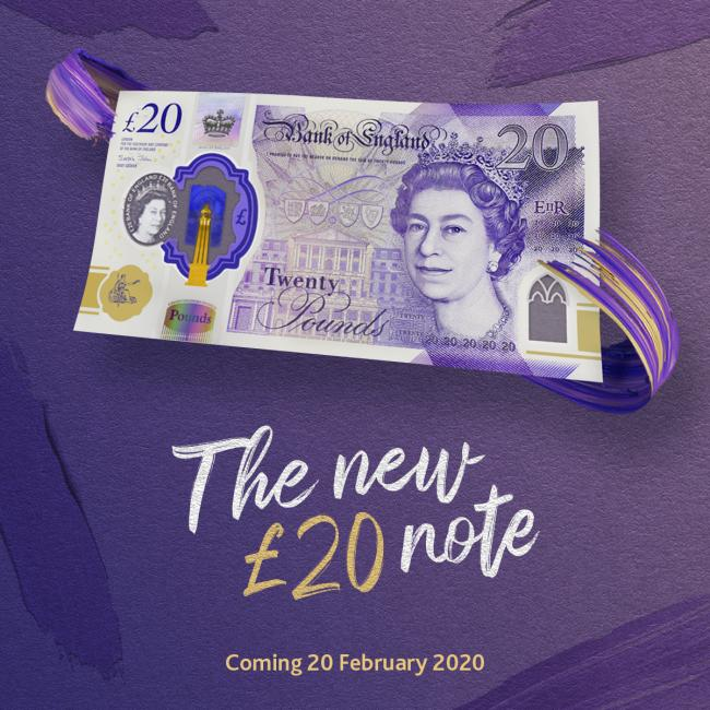 New £20 notes are here: 8 ways to tell a real one from a fake