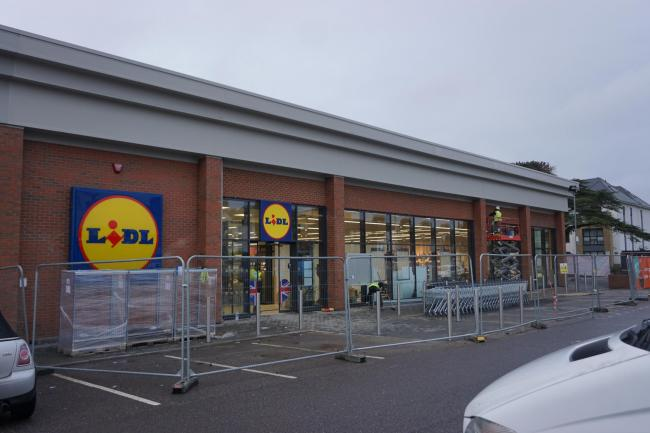 The new Lidl store in Bournemouth