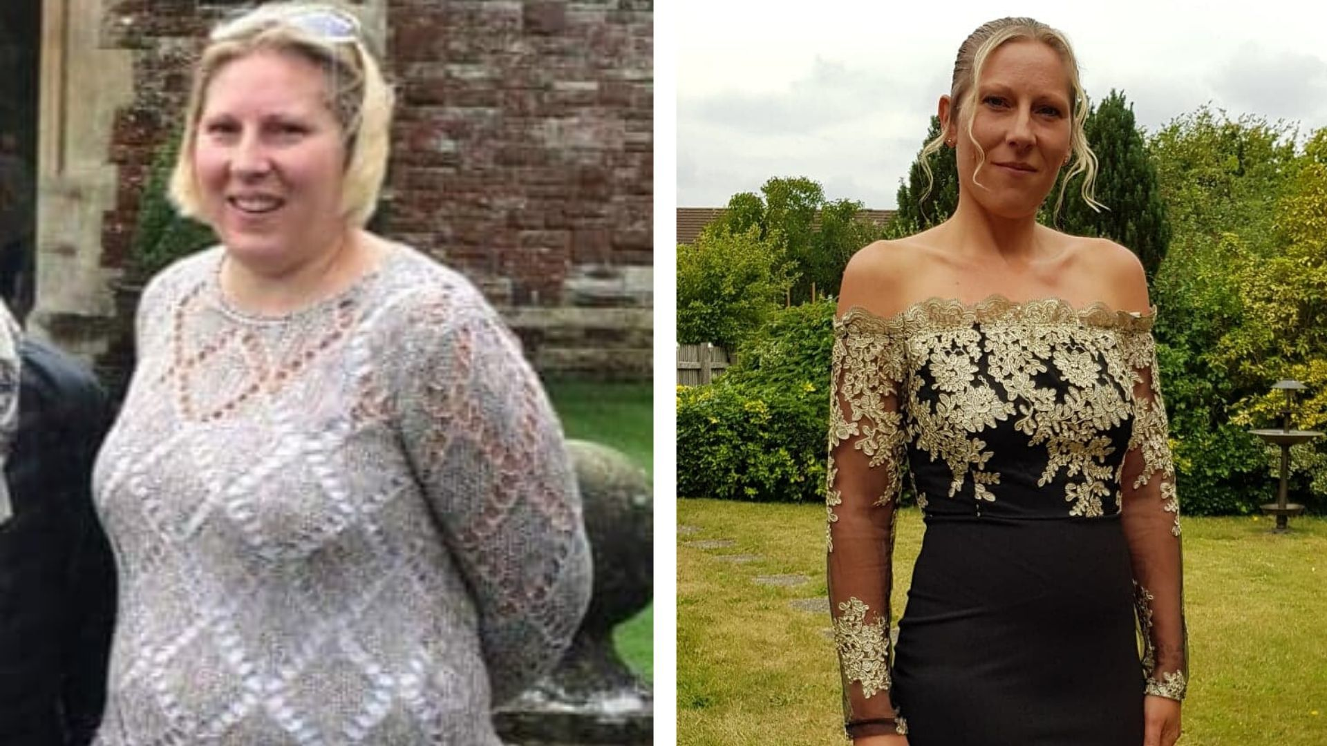Mum-of-two loses six stone and drops five dress sizes after overcoming life-threatening sepsis scare