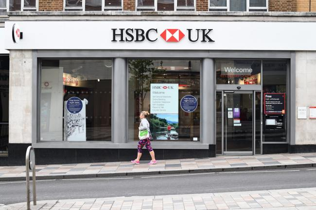 HSBC to close 82 branches across the UK