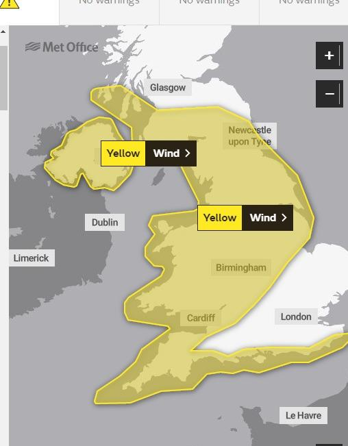 Weather warning issued by Met Office for Dorset this weekend