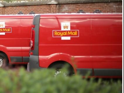 a Royal Mail delivery van is seen in this file photograph