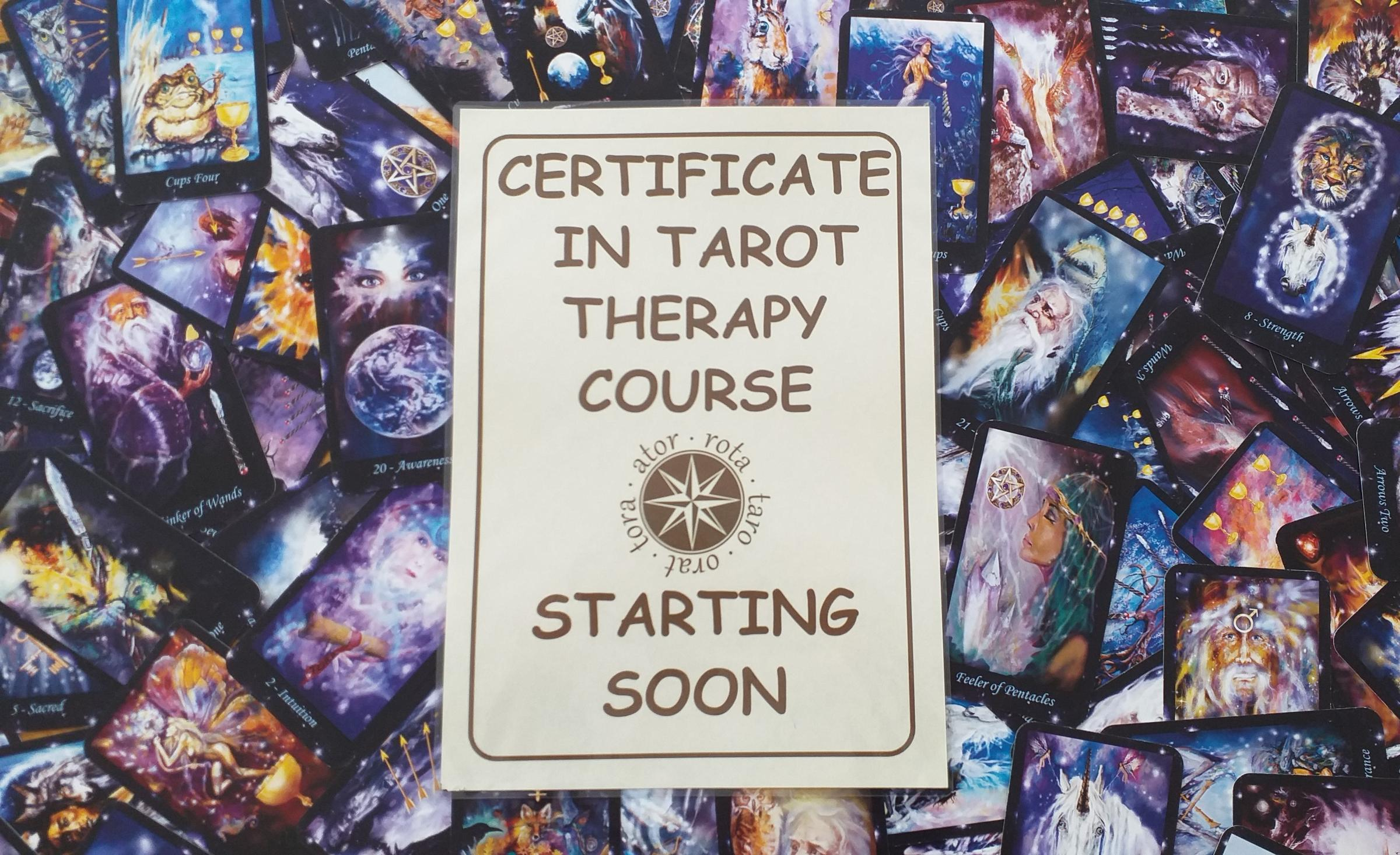 Certificate in Tarot Therapy