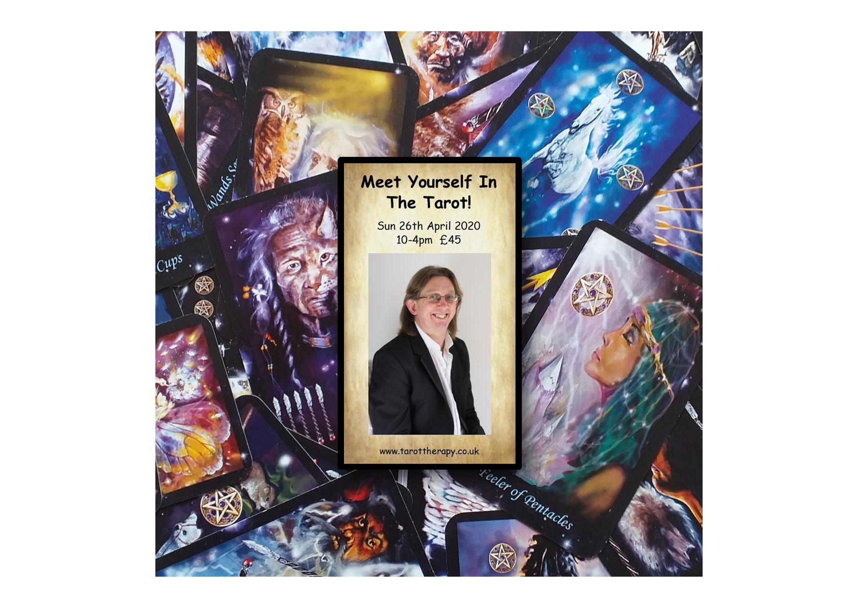 Meet Yourself In the Tarot! - 1 day Workshop in Poole!