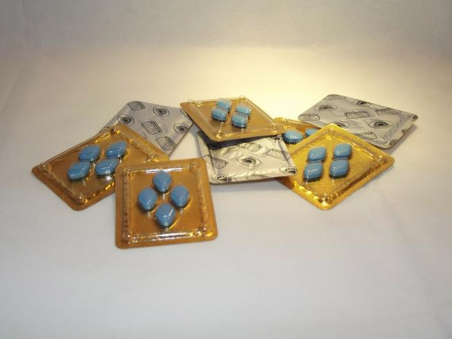Viagra tablets. Stock photo from Pixabay