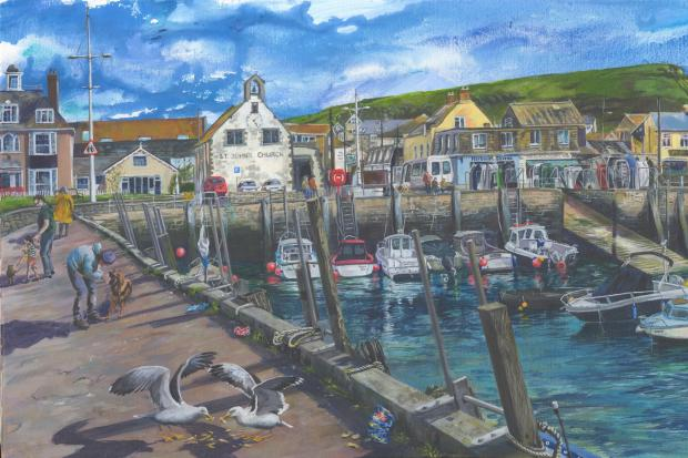 West Bay Harbour by Olivia Nurrish