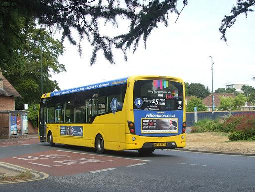 Yellow Buses will be revising their timetable from March 26