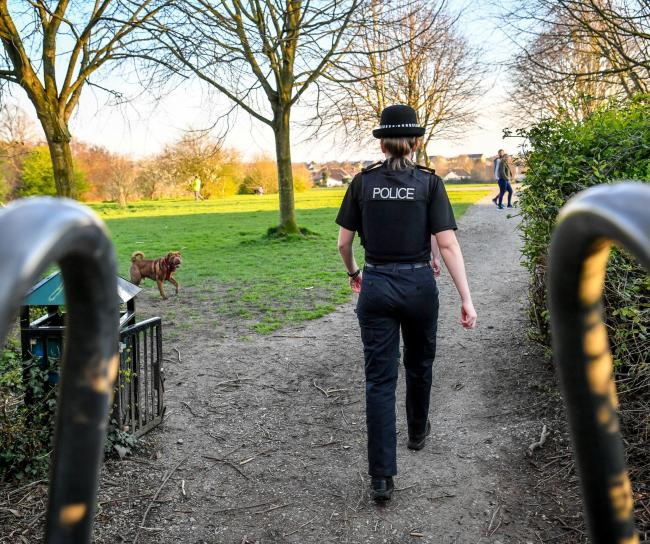 Police should not stop people taking a short drive to exercise, says our lead letter writer today