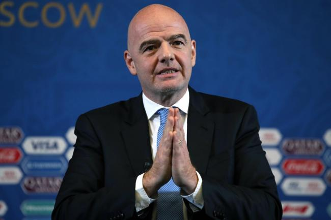 A case file concerning a flight FIFA president Gianni Infantino took in 2017 has been passed to federal prosecutors in Switzerland