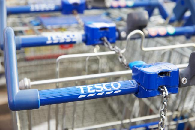 A man has appeared in court after stealing alcohol from Tesco