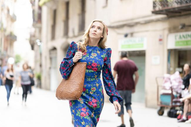 Undated BBC Handout Photo from Killing Eve – Series 3. Pictured: Jodie Comer as Villanelle. PA Feature SHOWBIZ TV Comer. Picture credit should read: PA Photo/BBC/Sid Gentle. WARNING: This picture must only be used to accompany PA Feature SHOWBIZ TV