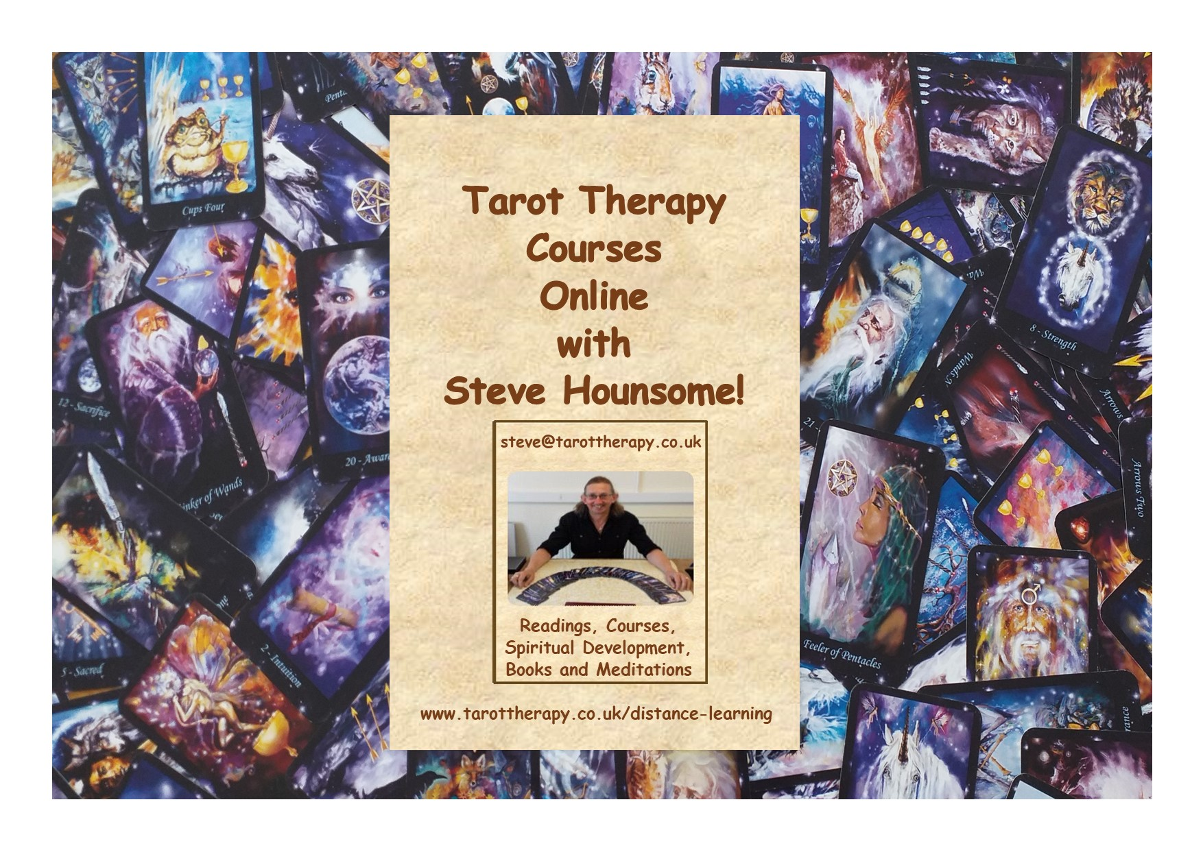 Certificate in Tarot Therapy Online - By Distance Learning with Steve Hounsome!